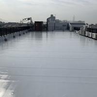 塩ビシート防水シートウレタン防水バルコニーの画像
