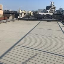 屋上ウレタン防水(通気緩衝工法)工程写真の画像