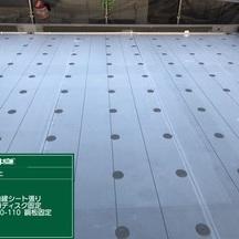 埼玉県 北区 ハウスメーカー戸建て 屋上防水改修工事 その①の画像